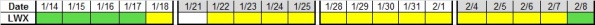Next 4 wks LWX 1-11-2013