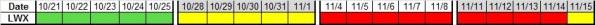 Next 4 wks LWX 10-18-2013